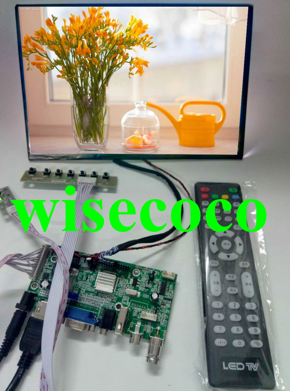 10.1 IPS for Raspberry Pi Monitor 1280*800 TFT N101ICG-L21 HD LCD Display Remote Driver Board HDMI 2AV VGA for Raspberry10.1 IPS for Raspberry Pi Monitor 1280*800 TFT N101ICG-L21 HD LCD Display Remote Driver Board HDMI 2AV VGA for Raspberry