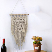 LYN&GY Hanging Nordic Style Cotton Line Weaving Macrame Wall Art Handmade Cotton Wall Hanging Tapestry Bohemia Dropshipping