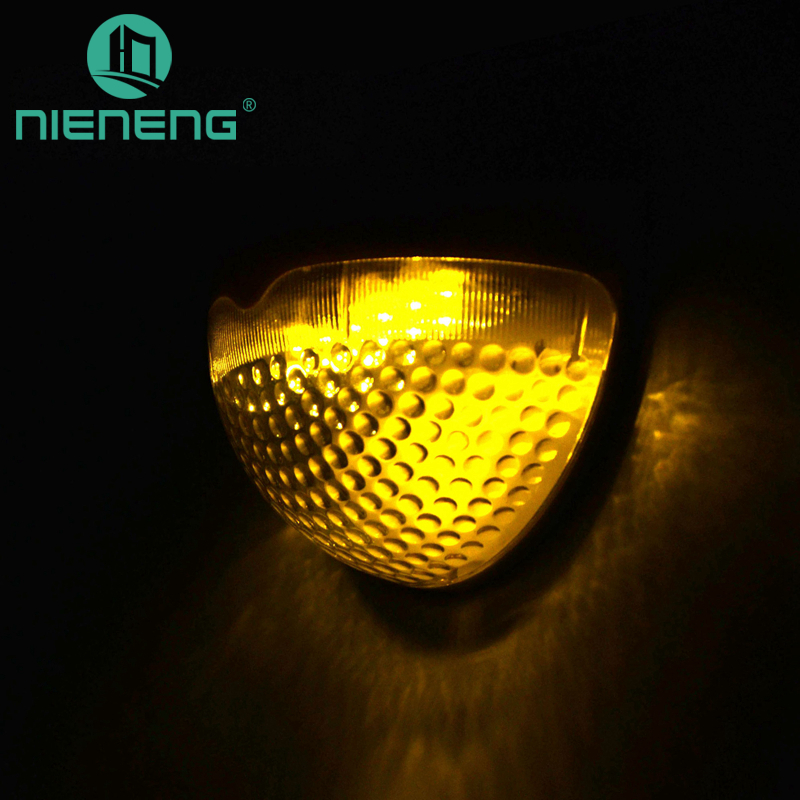 Nieneng solar street lights powered led light for garden decoration wall lamp courtyard lamp fence lights outdoor ICD90042