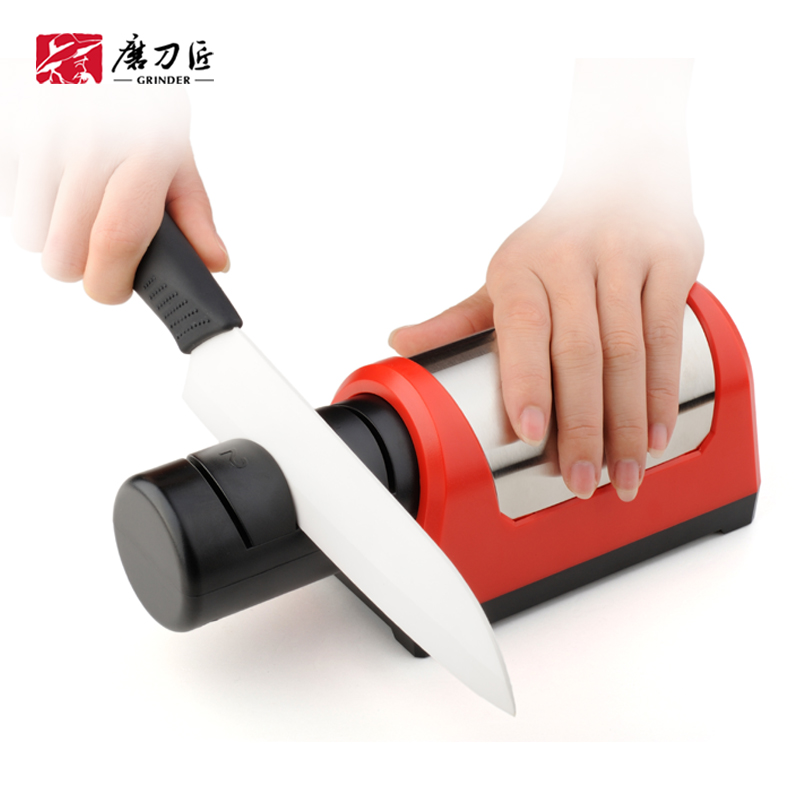 GRINDER Professional Multifunction Kitchen Electric Knife Sharpener Diamond Knife Sharpening amolador de faca TAIDEA