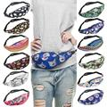 Travel Army Travel Wallets Waist Packs Bags 3D Floral Men Women Hip Package Nylon Bag