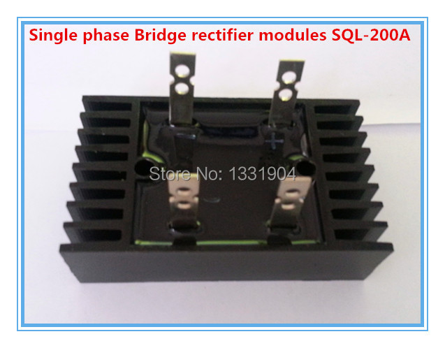 цены free shipping New singe phase Diode Bridge Rectifier SQL 200A 1600V modules