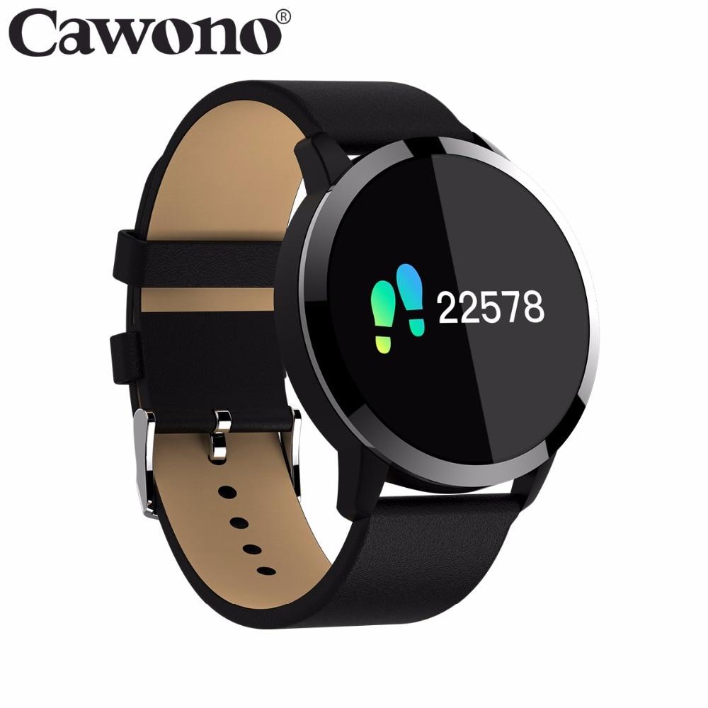 Cawono CW5 Цвет Сенсорный экран фитнес браслет SmartWatch смарт умные часы smart watch мужские Спорт Фитнес часы Для мужчин Для женщин монитор сердечного ...