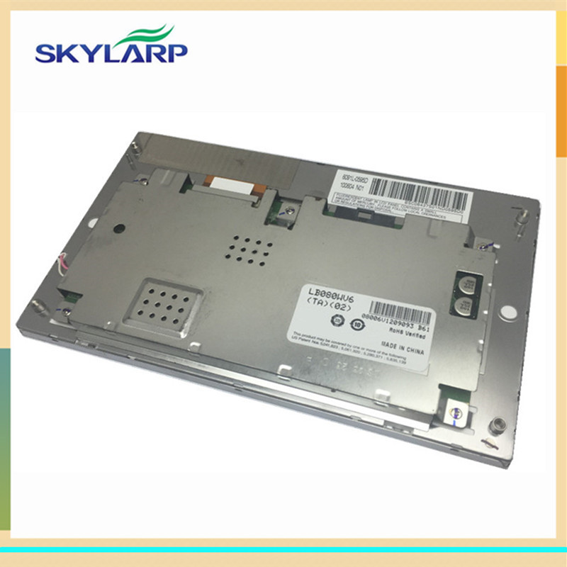 skylarpu 8 inch Car GPS LCD screen for LB080WV6(TA)(02) display panel (without touch) lq065t9br51u lq065t9br52u lq065t9br53u lq065t9br54u lq065t9br55u lcd screen display for car gps car lcd