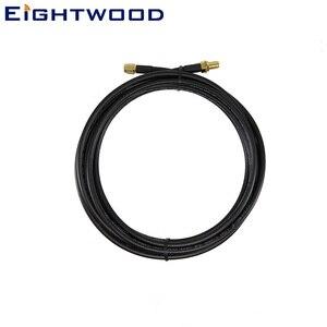 Eightwood SMA Male to Female кабель с креплением на переборку RG174 5 м для RTL SDR USB ADS-B приемник FPV Дрон контроллер передатчик