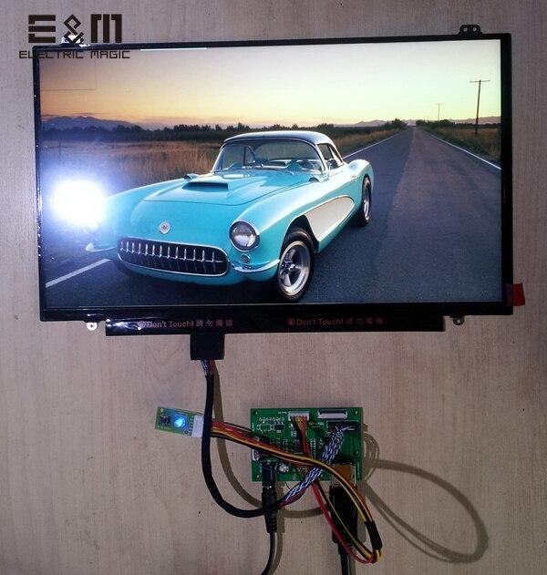 E & M 14.0 pouces 2560*1440 2 K 1440 p QHD affichage AHVA LCD écran Module lecteur de carte DisplayPort DP ordinateur portable PC moniteur nouveau Original