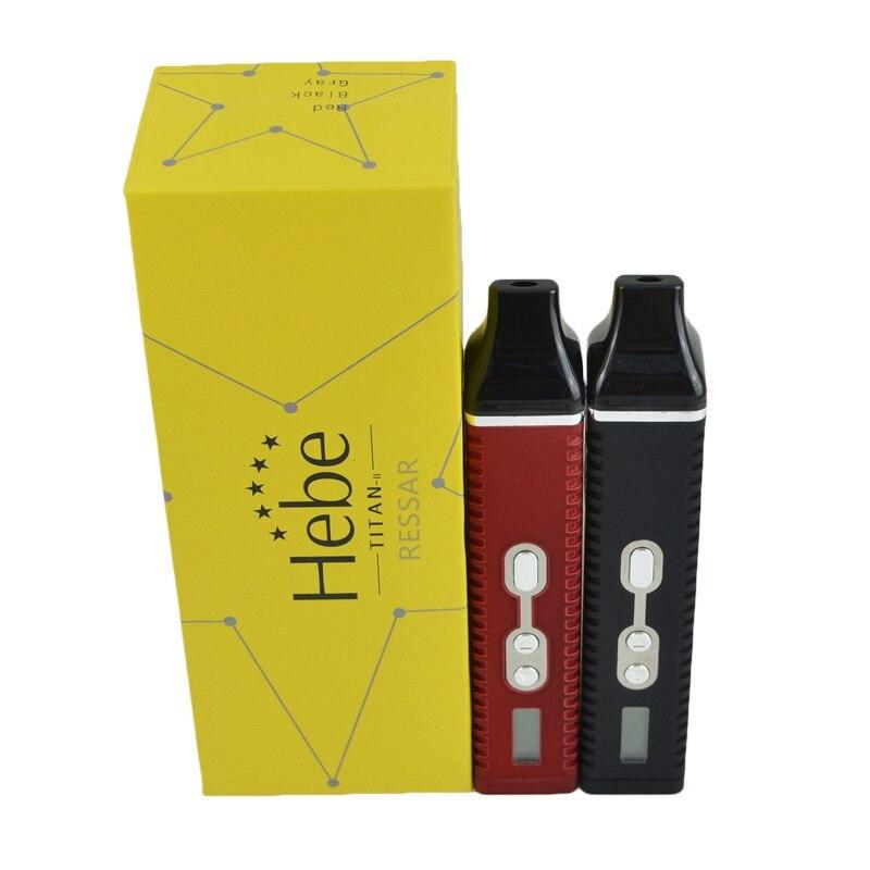 2018 Hebe Titan II kit Sec à base de plantes Vaporisateur e cigarette Sec herbes Vaporisateur stylo 2200 mAh Batterie LCD Affichage