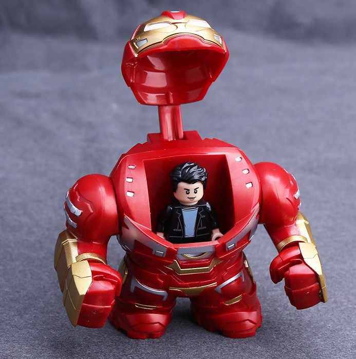 Hulk Buster Bruce Banner Avengers Figures Building Blocks Toys Compatible With Lego