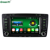 New 64 Bit CPU 2GB RAM Android 7 1 2 Car DVD Radio For Skoda Octavia