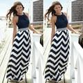 New Sexy Women Summer Dress Long Maxi Evening Party Dress Beach Chiffon Dresses sundress