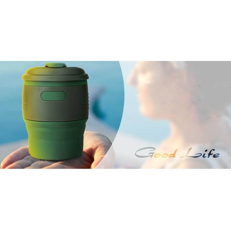 Koffiebeker - Auto - opvouwbaar