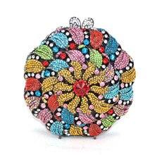 Frauen Handtaschen Damen Vogel Form Abendtasche Weibliche Hochzeit Diamanten Partei Geldbörsen stilvolle kristall handtasche (88306-A)