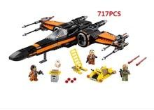 LEPIN LELE Space Star Wars Stawars Minifigures First Order Poe's X-Wing Fighter Kids Baby Model Toys Building Blocks Brick