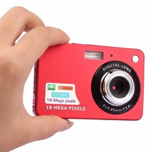 "3 цвета Новинка 2017 года 1080 P HD Mini Digital Камера 18MP CMOS 2.7 ""TFT p ХОТО камеры 8x зум Smile ca P туры Anti-Shake видеокамера"