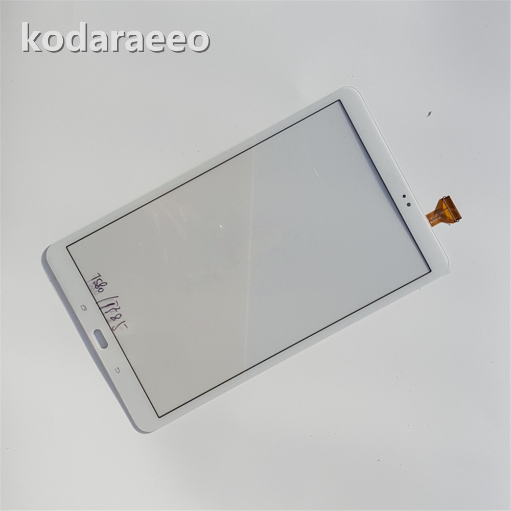 Kodaraeeo For Samsung Galaxy Tab A 10.1 T580 T585 SM-T580 SM-T585 Touch Screen Digitizer Sensor Glass Panel Tablet Replacement srjtek 10 5 for samsung galaxy tab s t800 t805 sm t800 sm t805 touch screen digitizer sensor glass tablet replacement parts