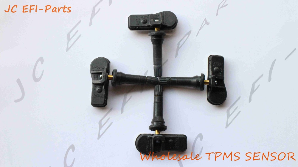 9811536380 TPMS sensor set 4 For Citroen C3 C4 Peugeot 308 408 508