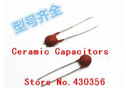100PCS Ceramic capacitor 50V 221 220PF