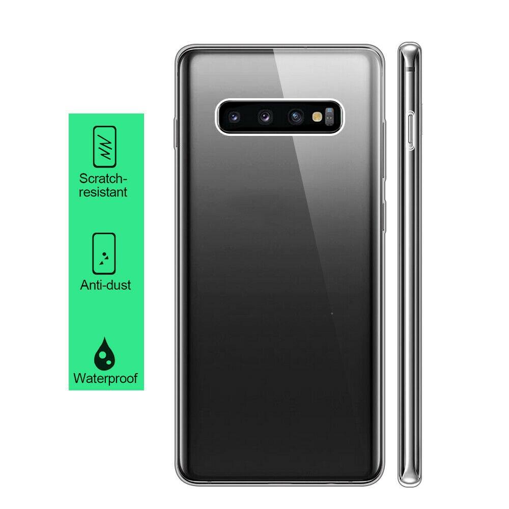 360 Double Silicone Case For Samsung Galaxy S10 Lite S10E E S8 S9 Plus A3 A5
