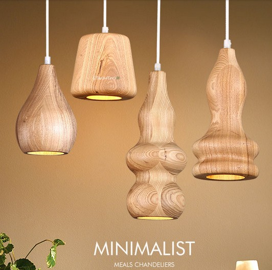 Simple Wooden Droplight Modern LED Pendant Light Fixtures For Dining Room Bar Hanging Lamp Indoor Lighting Lamparas Colgantes nordic simple wooden droplight modern led pendant light fixtures for dining room hanging lamp indoor lighting lamparas