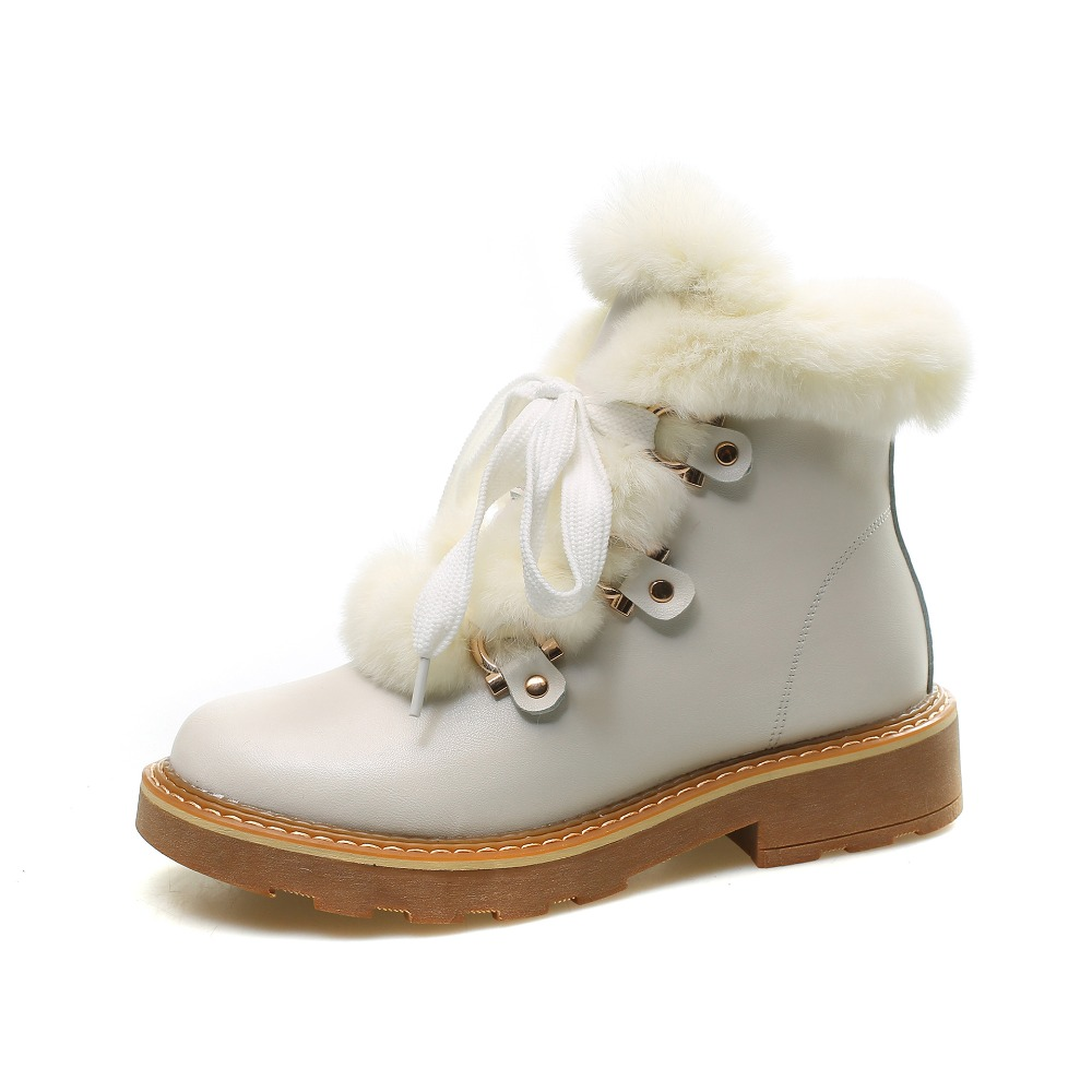 Femelle Avec Noir Jookrrix Dame Casual Fourrure De Noir blanc Cheville  Chaussure Neige Chaussures Femmes Chaud Marque 2018 D hiver Mode Bottes  OSqO7wrB 01c0ec1fc2a0