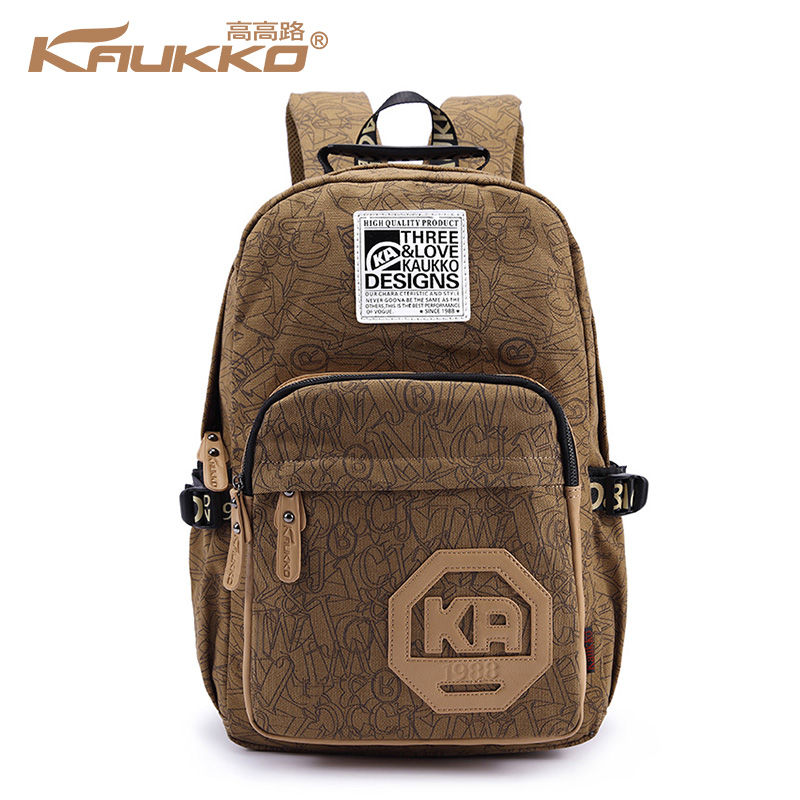 ФОТО UniCalling fashion brand men women trendy backpack preppy style casual canvas backpack school bag