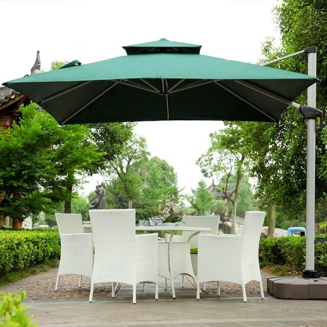 Mu Outdoor Patio Furniture, Beach Banana Advert Roman Shade Umbrella Sun  Stall Booth