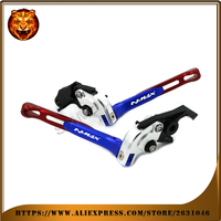 Motorcycle Adjustable Folding Extendable Front Rear Brake Lever For YAMAHA NMAX155 2017 NMAX125 2016 2017 NMAX