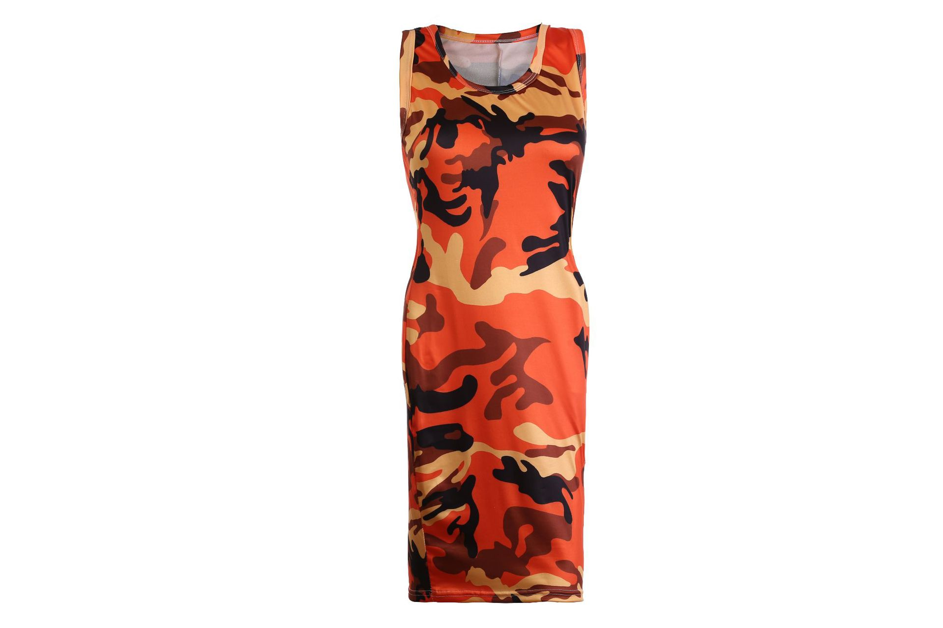 dress women plus size women vintage casual mama clothes fashion 2019 summer dresses sexy print sleeveless o neck club in Dresses from Women 39 s Clothing