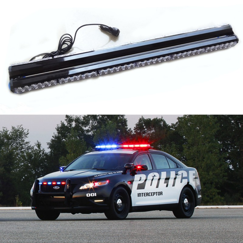 35 inch double sided police fireman ambulance car truck led warning 35 inch double sided police fireman ambulance car truck led warning light emergency flasher beacons hazard strobe caution lights in car light assembly from aloadofball Choice Image
