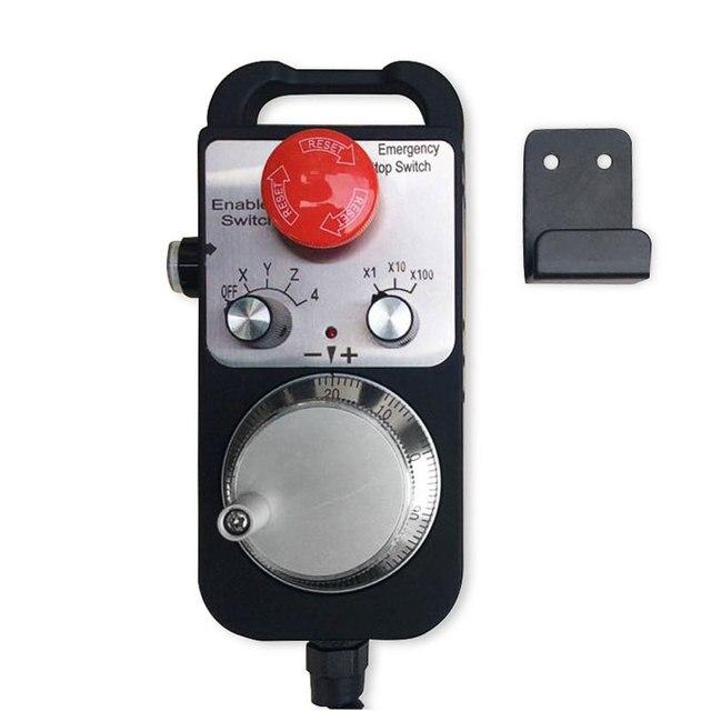 Cnc pulse generator 4 axis mpg pendant handwheel emergency stop cnc pulse generator 4 axis mpg pendant handwheel emergency stop manual pulse generator for aloadofball Image collections