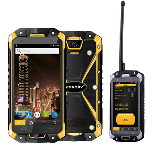 Image 1 - Military Industry V18 Santong IP68 Dust proof Water Fall 4.5 inch Large Screen 4G Hardware Interphone Smartphone