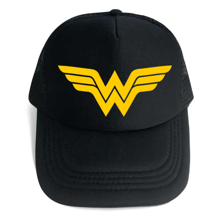 cf2ce1a5d02 Heroine Wonder Woman Flat Snapback Hip-Hop Caps Hat Adult Women Men Cosplay  Hat Adjustable