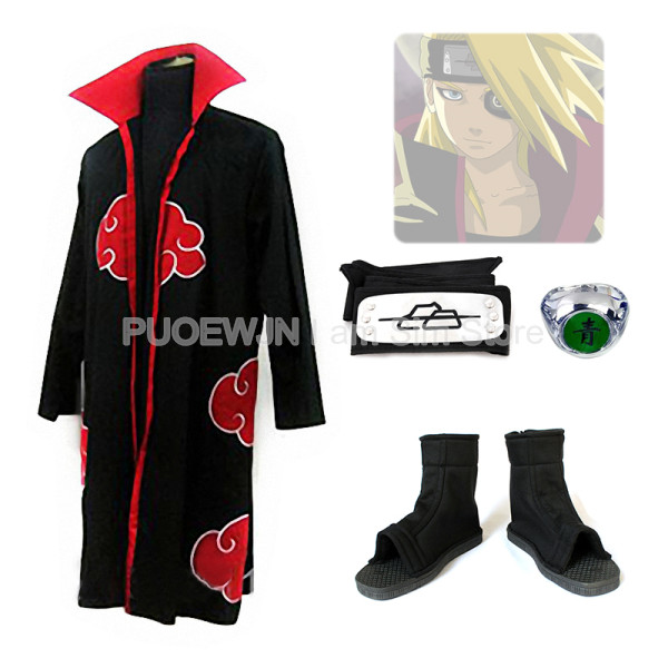 Anime Deidara Cosplay Costume