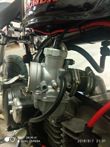 ZSDTRP PE24 PE26 PE28 High Perfromance Keihin Carburetor Carb Manual/Auto  Control for Racing Motorcycle Scooter ATV Parts