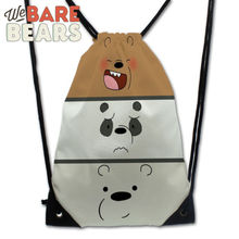 cec278614399 TEAEGG Wellcomics We Bare Grizzly Panda Ice Bear Full Printed Backpack  Knapsack