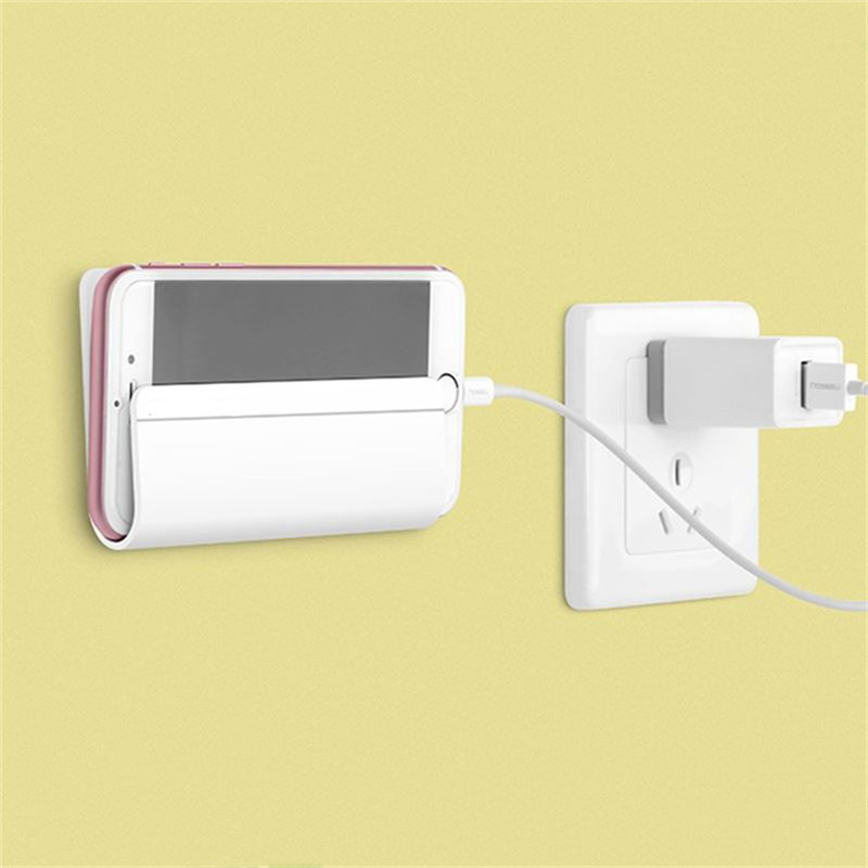 Cheapest universal wall stand mount charger phone holder for smartphone mobile phone charger - Wall mount headphone holder ...