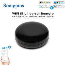 Wifi Smart IR Remote Control Infrared Universal Smart Life APP Control One for All TV DVD AUD Voice wireless Remote Control цена и фото