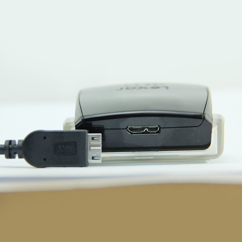 Lector de dos ranuras Lexar Professional 2 en 1 de alta velocidad USB 3,0 para tarjeta Sd/lector de tarjetas de memoria Compact Flash CF - 2