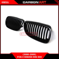 Glossy Black Car Styling Original Style Kidney Front Bumper Auto Mesh Grill For Bmw 3 Series