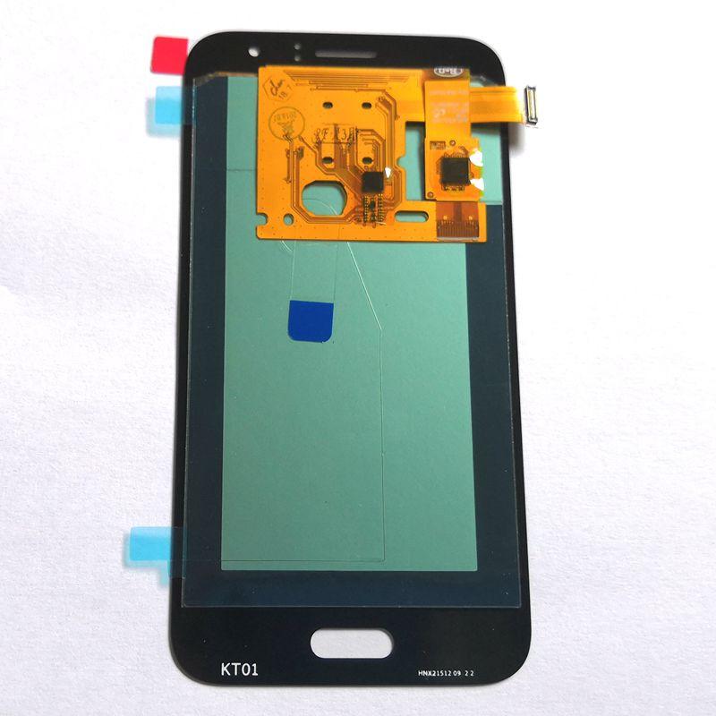 Amoled testé bon pour Samsung Galaxy J1 2016 j120 j120F j120Y J120M LCD avec verre tactile ensemble complet pour l'affichage de réparation