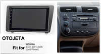 Android 9.0 radio 8core auto multimedia GPS Navigation für Honda Civic 2001-2006 links rad aux bluetooth HD video player rahmen