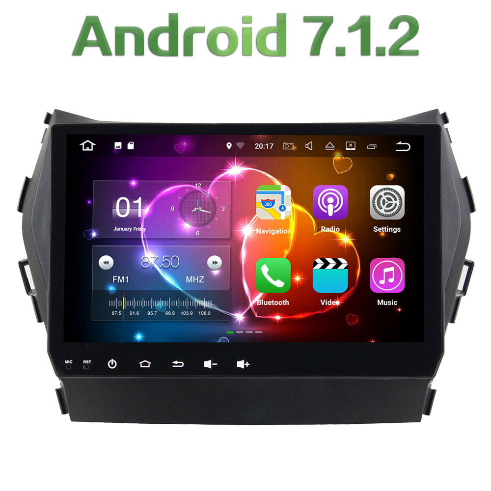 Android 7 1 2 Quad core 9 2GB RAM 16GB ROM Touch Screen font b Bluetooth