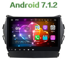 "Android 7.1.2 Quad core 9"" 2GB RAM 16GB ROM Touch Screen Bluetooth Car Radio Player Stereo For Hyundai IX45 2014-2016"