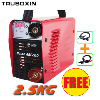 Welding tool 3.2mm electrode Special welder 220V/230V MINI 200A Inverter DC IGBT Welding machine/welding equipment free shipping