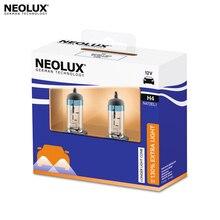 Галогеновая лампа головного света Neolux N472EL1-22SCB H4 цвет стандартный желтоватый 12В 55Вт 4000K (2 шт)