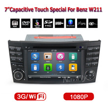Free shipping car Multimedia player for Benz E Class W211 W209 W219 W463 with DVD player GPS navigator radio Ipod Bluetooth