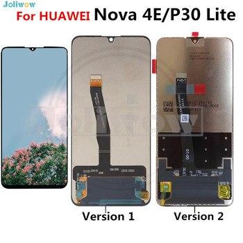 "For 6.15"" Huawei P30 Lite lcd Nova4 e LCD Display Screen+Touch Panel Digitizer Assembly For Huawei Nova 4E Display"