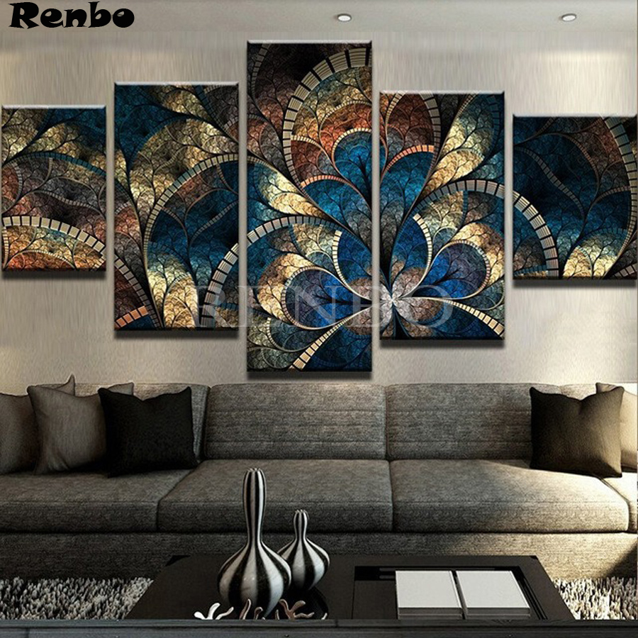Full Square 5D DIY Diamond Painting Abstract butterfly fantasy Diamond embroidery Cross Stitch Rhinestone Mosaic decoration