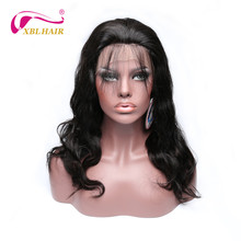 XBL HAIR Lace Front Wigs For Black Women Body Wave Human Hair Brazilian Remy Hair Free