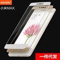 100% original cubierta para xiaomi mi max 6.44 mocolo marca completa ''screen protector de cristal templado de cine para xiaomi max
